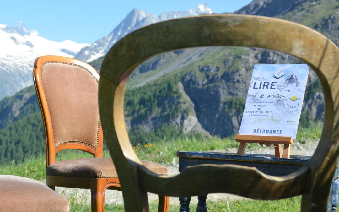 «Lire à la Montagne»: une bibliothèque à 2100 mètres
