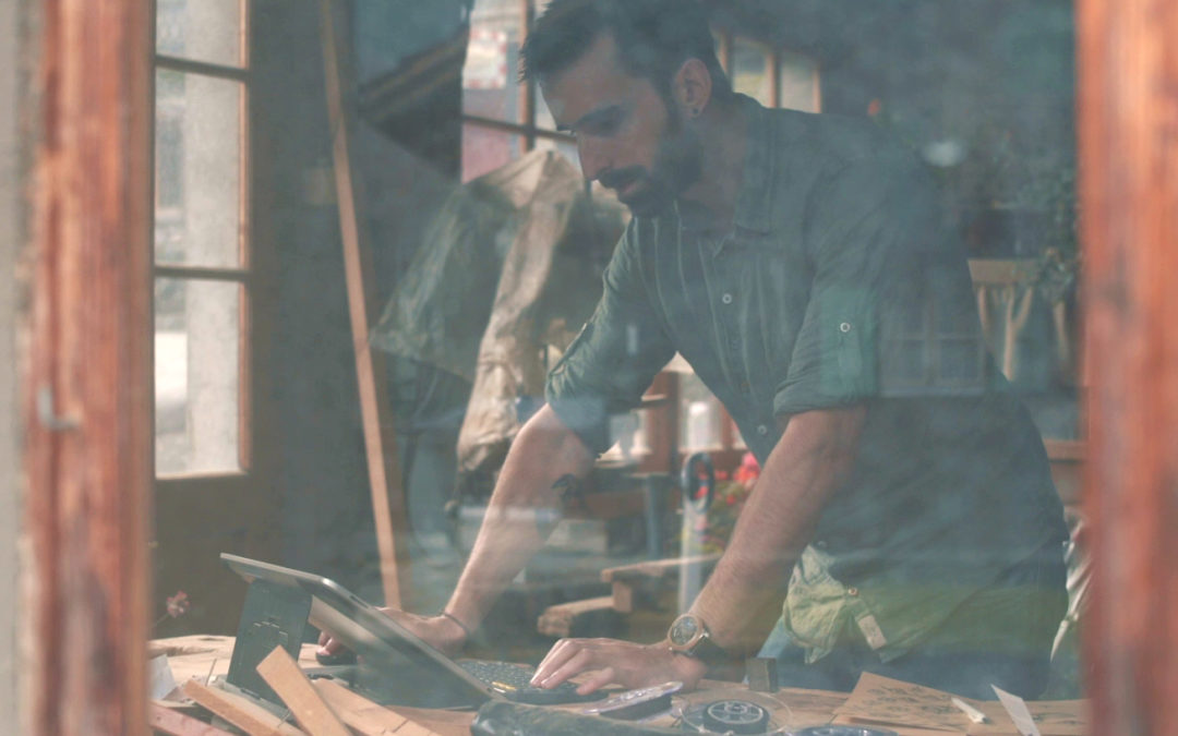 Damien Perrin : la simplicité de l'hêtre avec Wooper