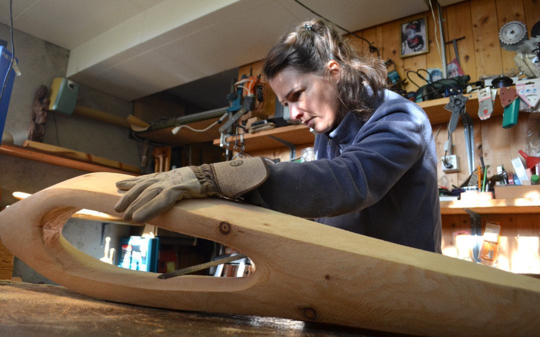 Chantale Heimo, coiffeuse et sculptrice : les volumes de sa vie