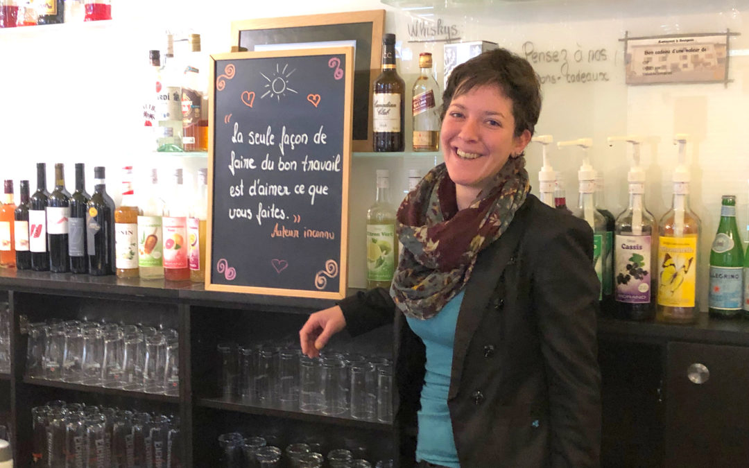 Carole Michelet, patronne du Bourgeois à Riddes : « J'adore le coup de feu au service ! »