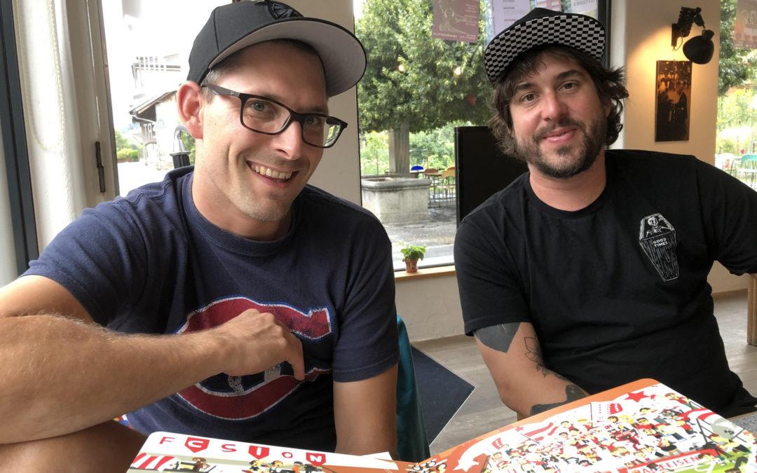 Phil et Julien : « Notre philosophie restera toujours les enfants et le Valais ! »
