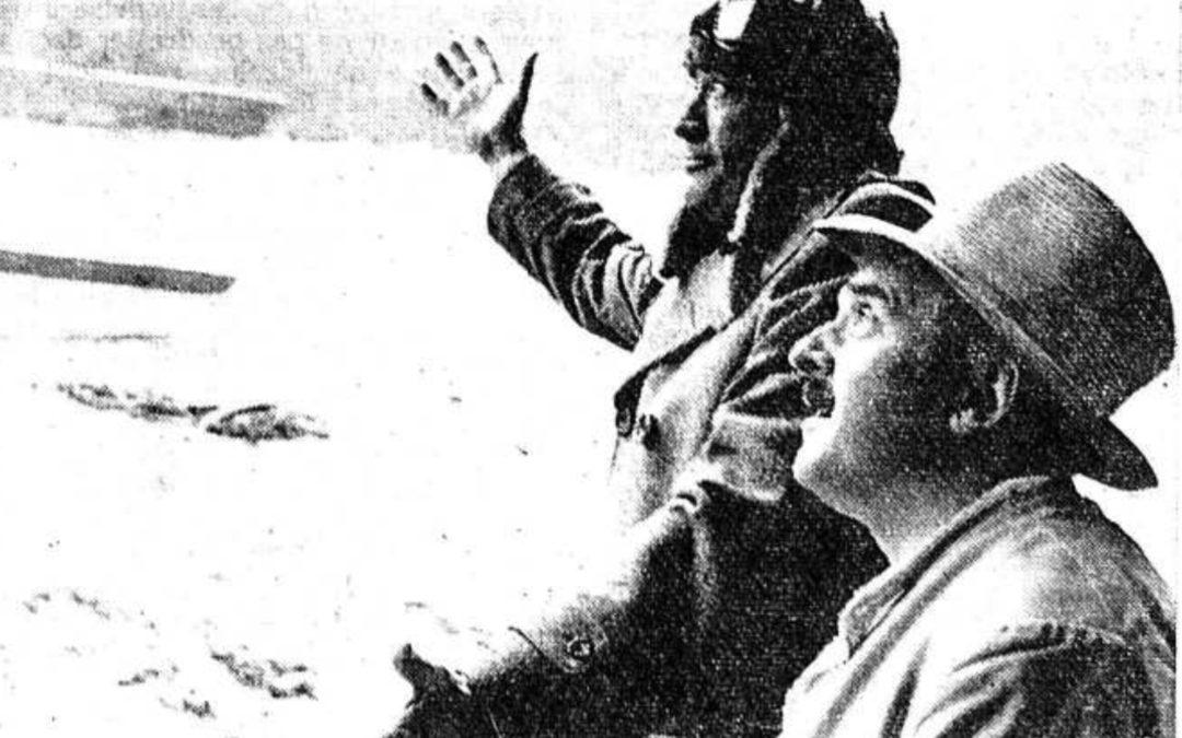 Le film que Gregory Peck n'a jamais terminé en Valais